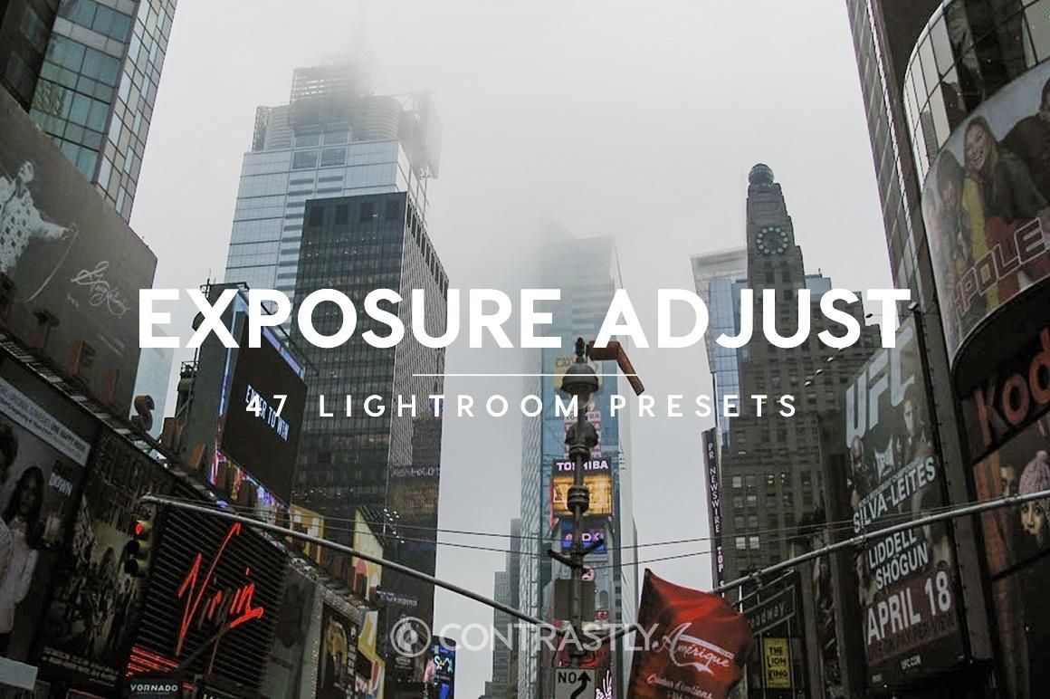 Exposure Adjust Lightroom Presets