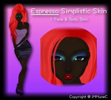 1 Espresso Simplistic Skin Texture