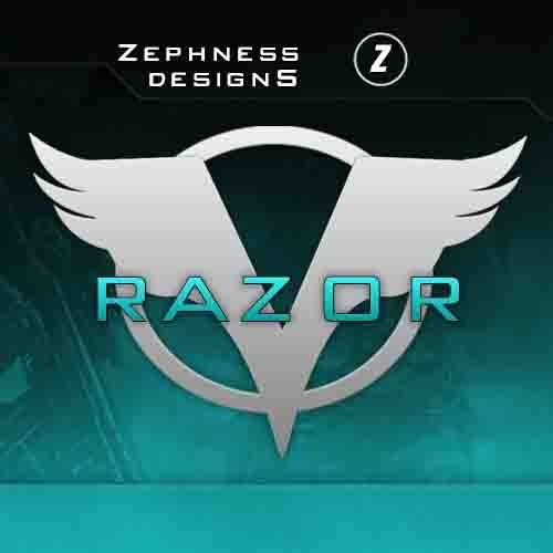 Razor Logo Template