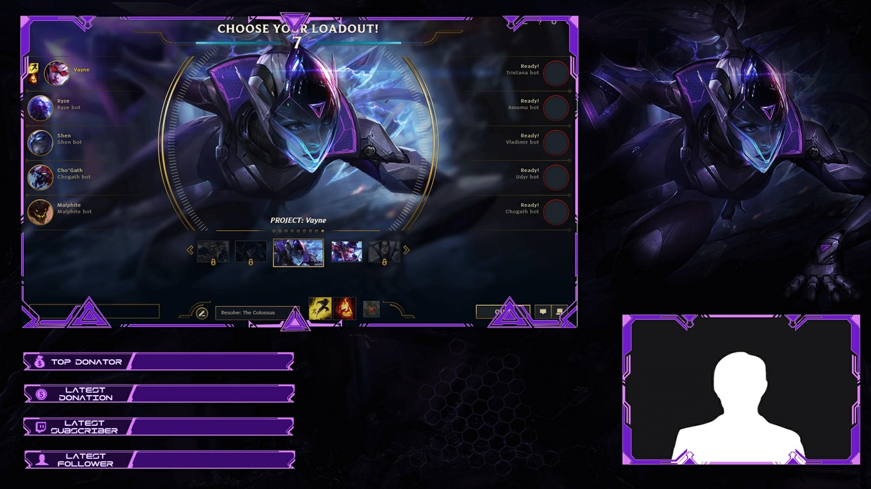 PROJECT VAYNE - CLIENT OVERLAY