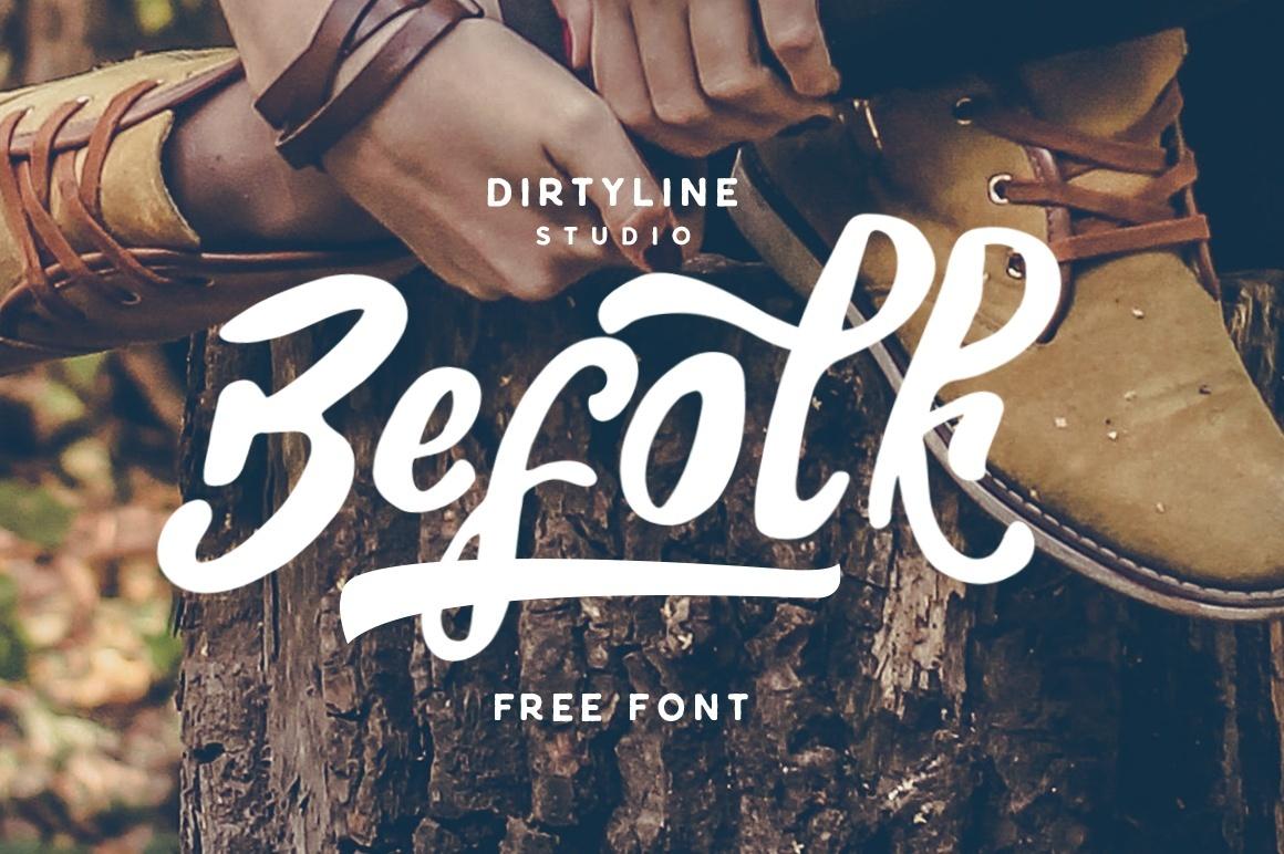 Befolk - Free Font