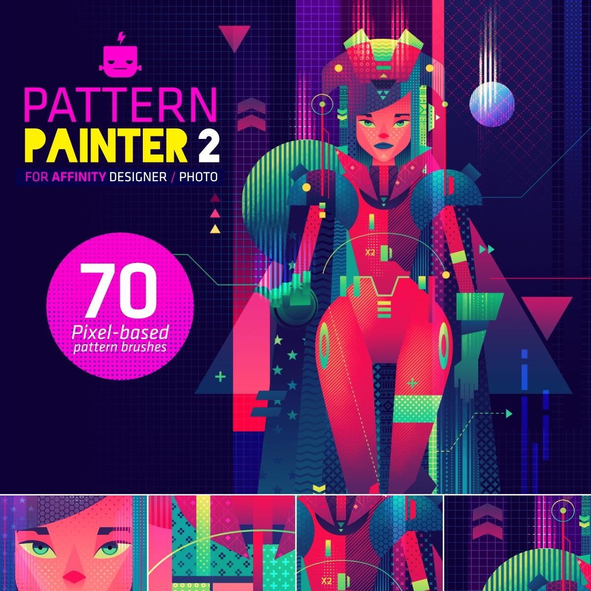Pattern Painter 2 - Brush Pack for Affinity Designer / Photo