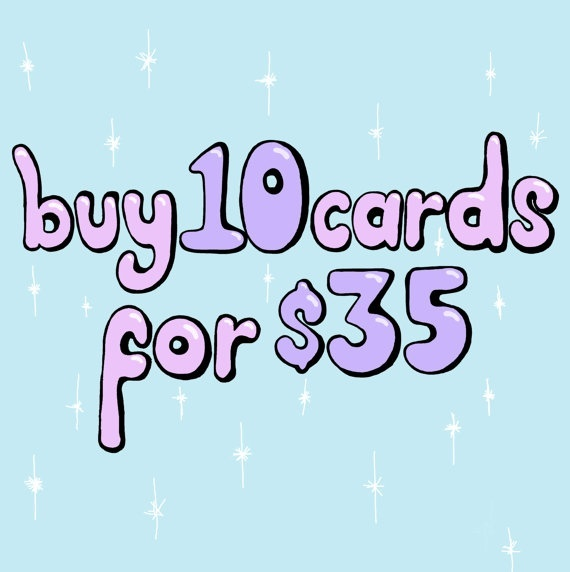 10 CARDS FOR 35 DOLLARS