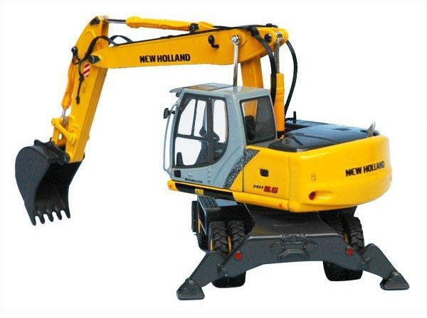 New Holland MH6.6 MH8.6 Wheeled Excavators Service Repair Workshop Manual Download