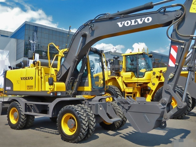 VOLVO EW145B WHEELED EXCAVATOR SERVICE REPAIR MANUAL - DOWNLOAD