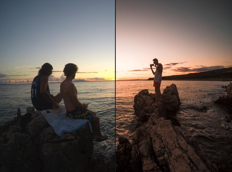PINK AND ORANGE sunset 2018