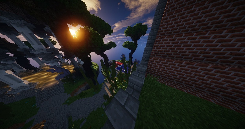 Awesome minecraft hub build!