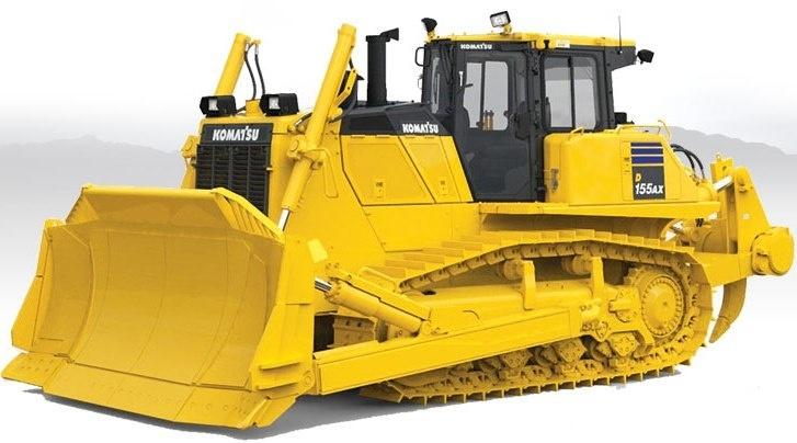 Komatsu Bulldozers D155AX-8 sn:100001 and up Workshop Service Manual