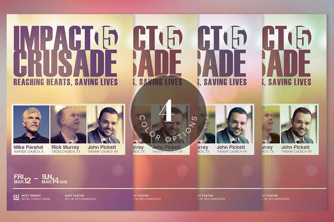 Gospel Crusade Program Template