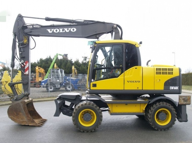 VOLVO EW160C WHEELED EXCAVATOR SERVICE REPAIR MANUAL - DOWNLOAD