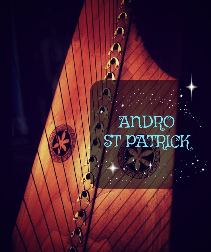 61-ANDRO ST PATRICK FOR LEVER HARP  PACK -S34-
