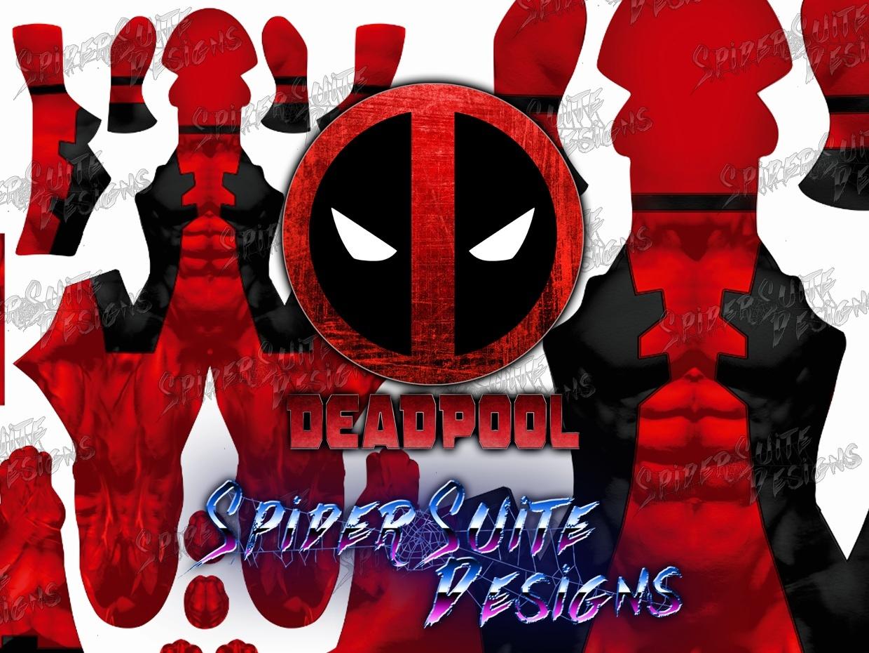 Classic Comic Deadpool 2017 Pattern