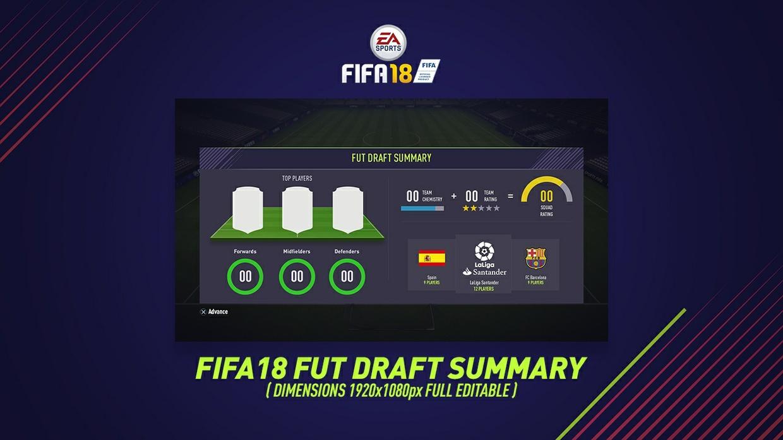 FIFA 18 FUT DRAFT SUMMARY