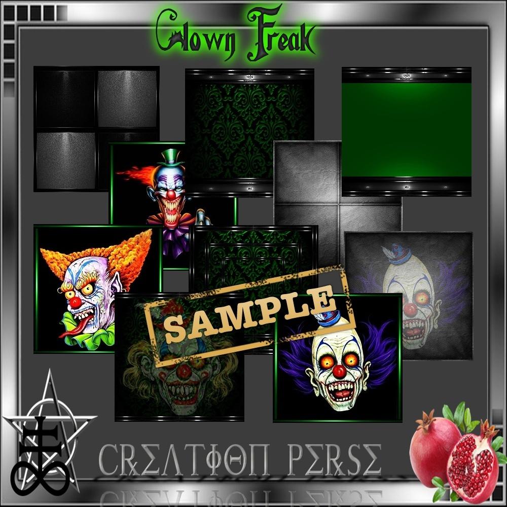 Clown Freak Mesh Room