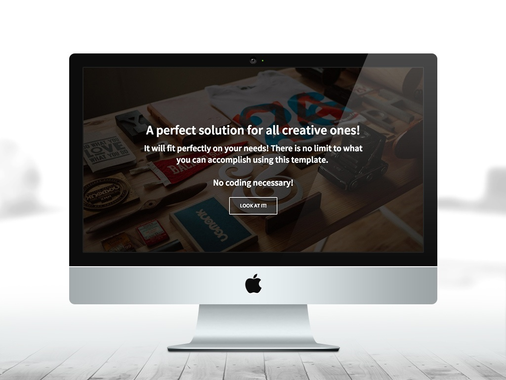 One Page Multi-Purpose WP Theme