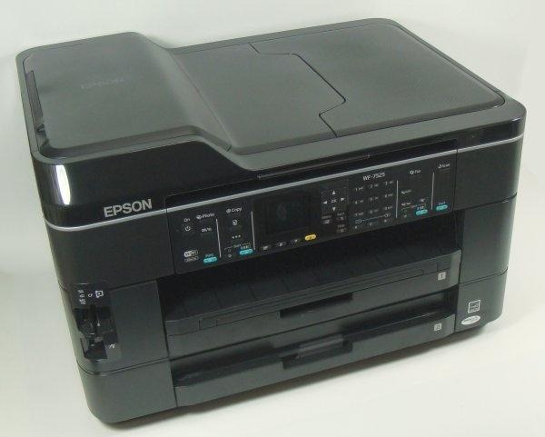 Epson WF-7525/WF-7521/WF-7520/WF-7515/WF-7511/WF-7510 Color Inkjet Printer Service Repair Manual