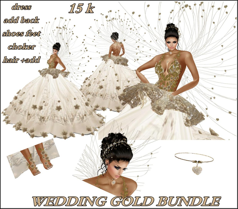 BUNDLE WEDDING GOLD FILE