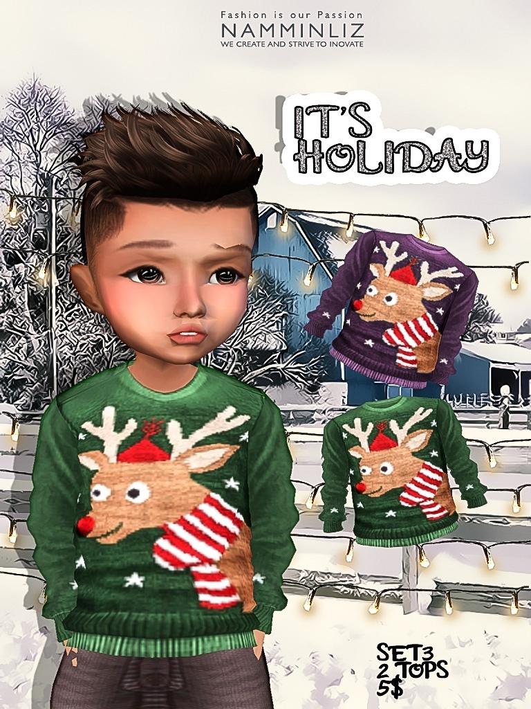 It's Holiday Set3 two tops imvu textures JPG NAMMINLIZ life sale