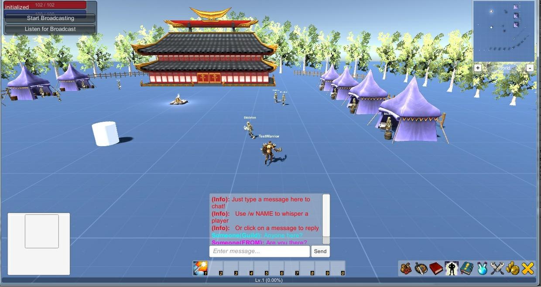 uMMORPG Addon - Joystick Controller
