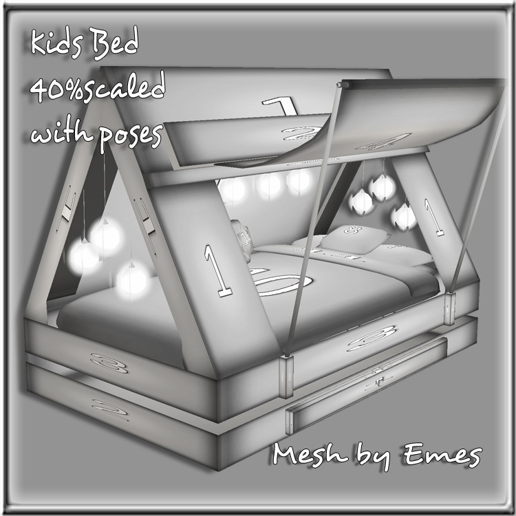 KIDS TENT BED MESH SCALED 40%