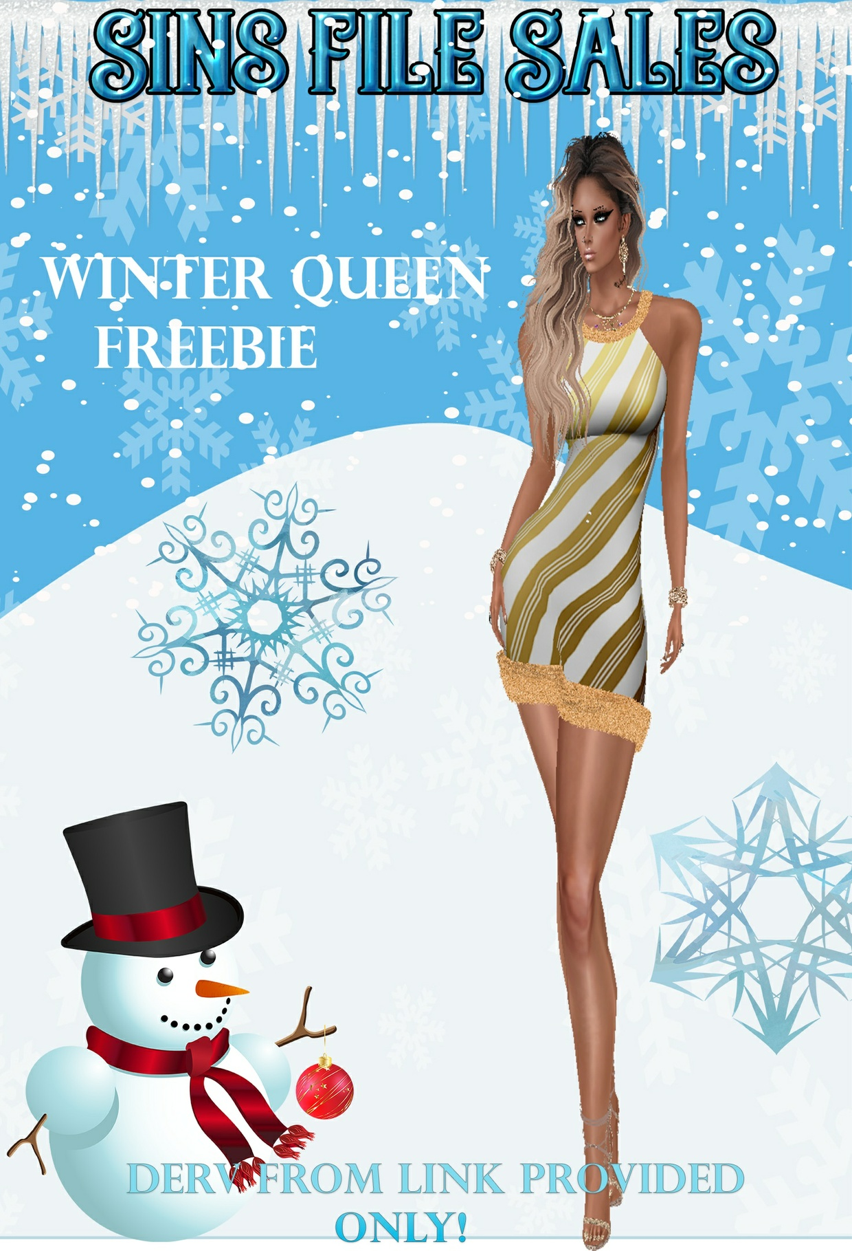 Winter Queen Freebie