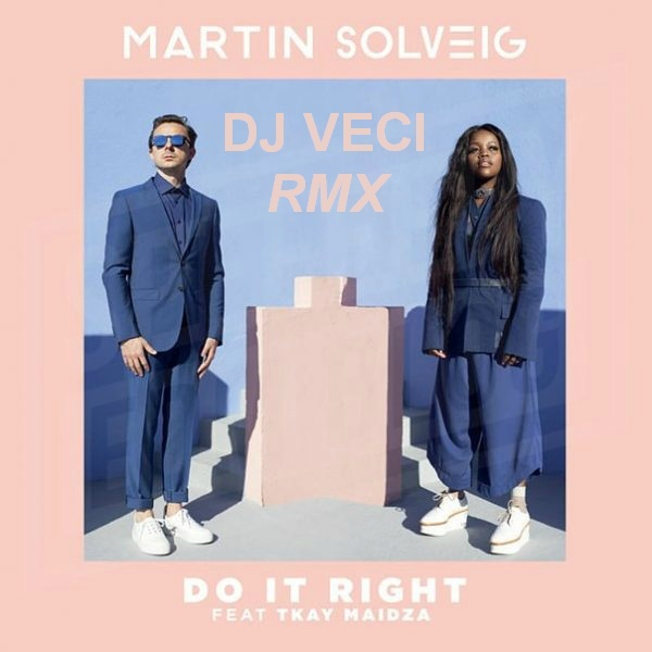 Martin Solveig Ft Tkay Maidza - Do It Right (Dj Veci Remix) [MP3 320KBPS]