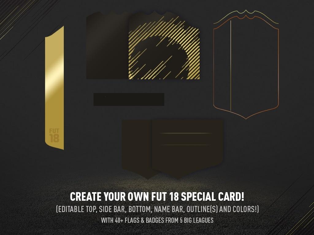 FUT 18 CUSTOM SPECIAL CARD PACK!