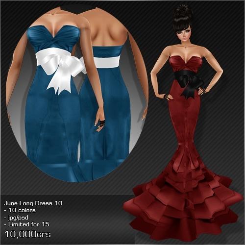 2013 Jun Long Dress # 10