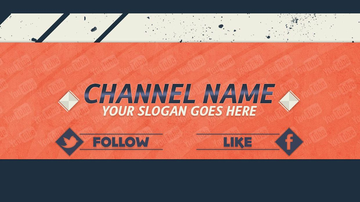 banner template photoshop