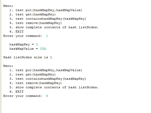 Implementation of hash tables from scratch in Java with full source code
