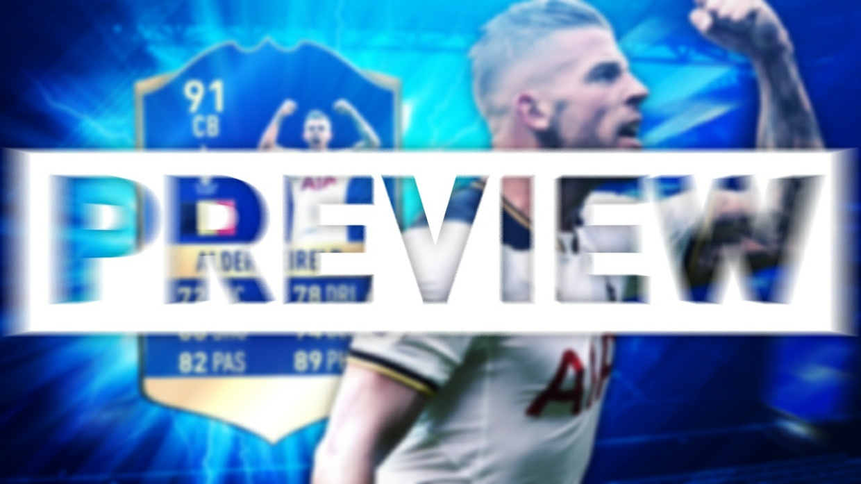 FIFA 17 TOTS ALDERWEIRELD THUMBNAIL TEMPLATE