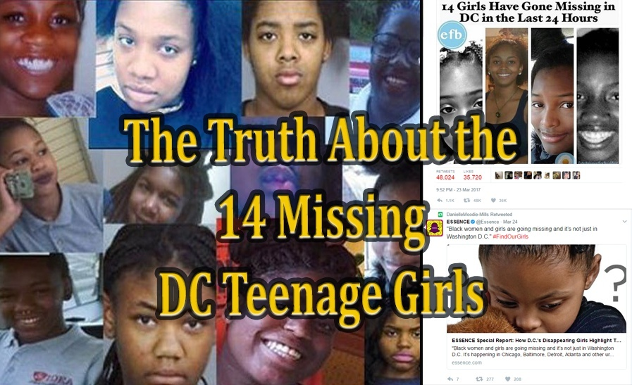 "The Truth About the ""Missing DC Girls"" & The Agenda of the Congressional Black Caucus"