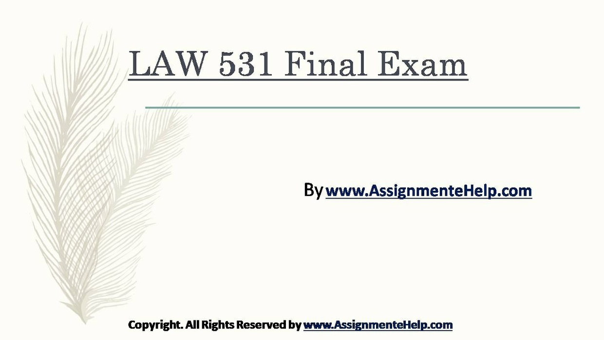 business law final
