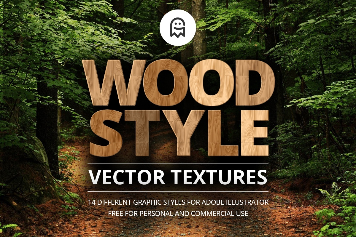 Wood Style Vector Textures