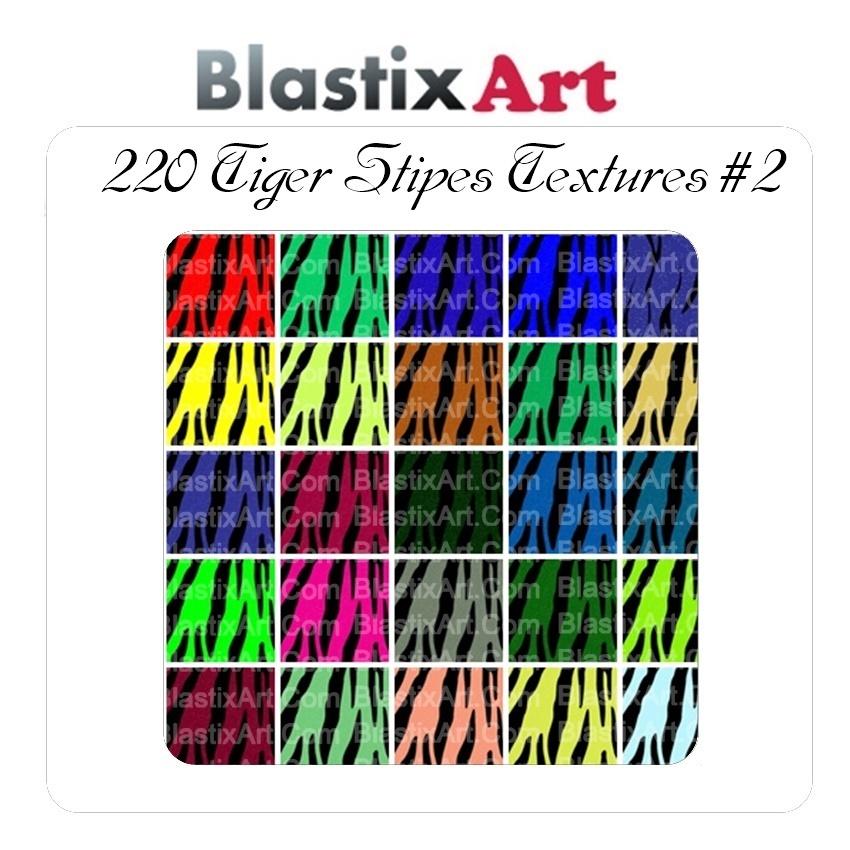 220 Tiger stripes Texture#2