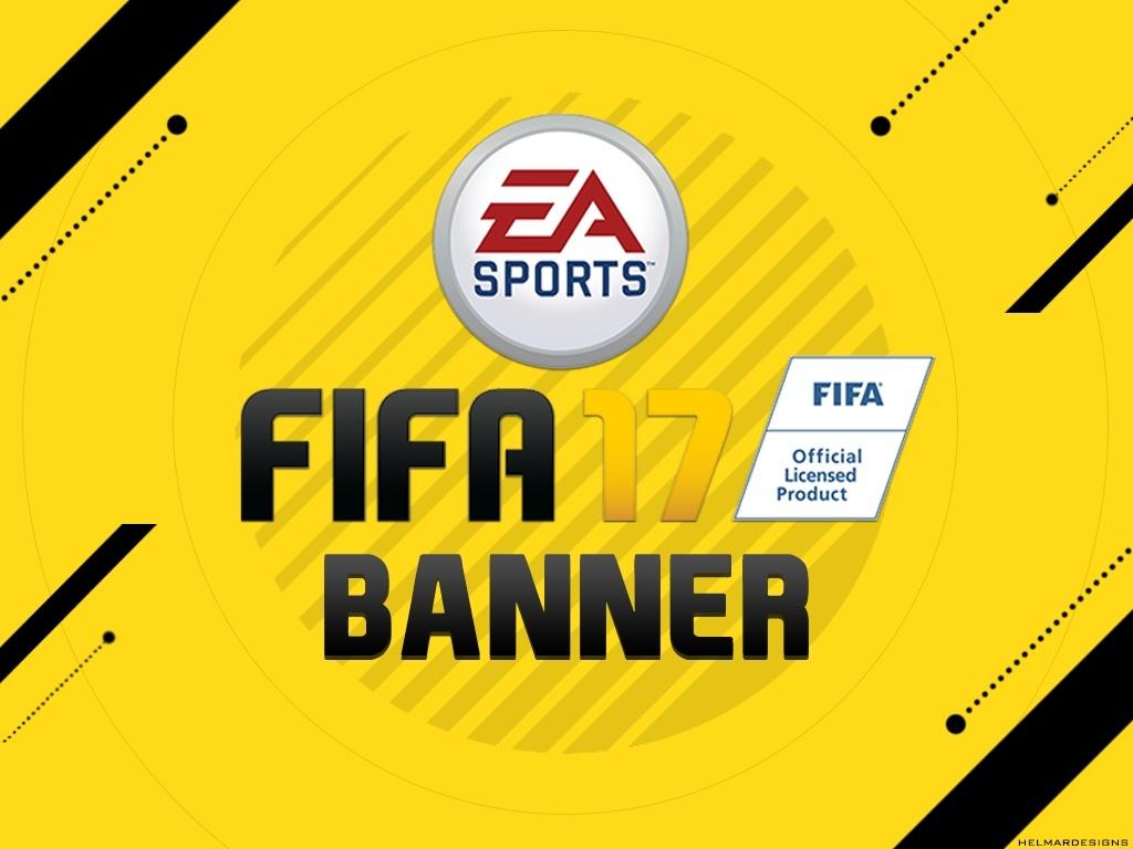 FIFA 17 Banner Template