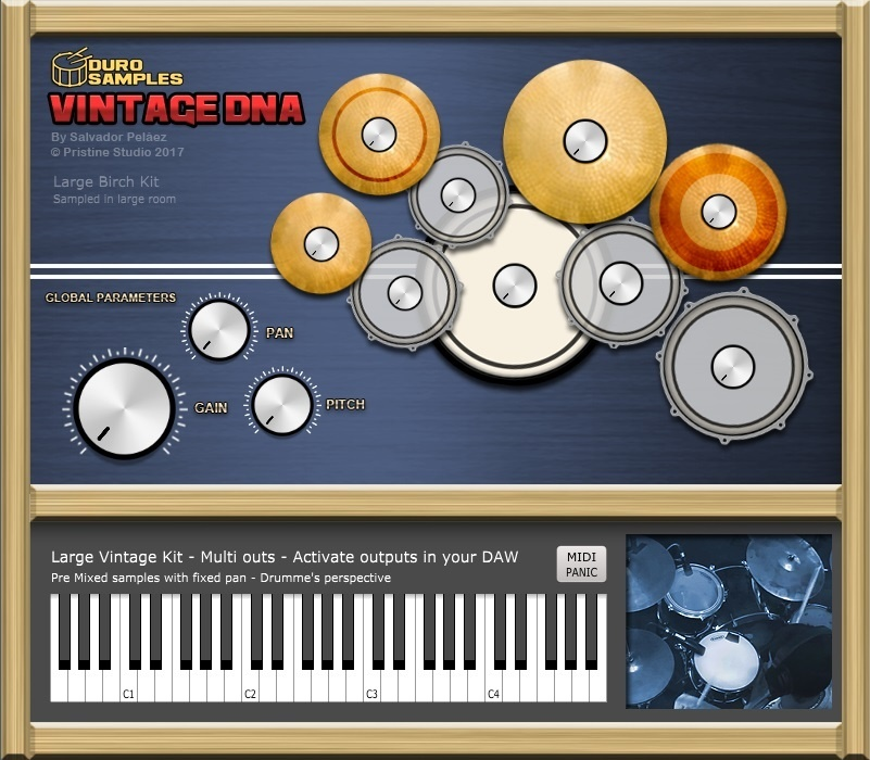 VINTAGE DNA-MAC VST