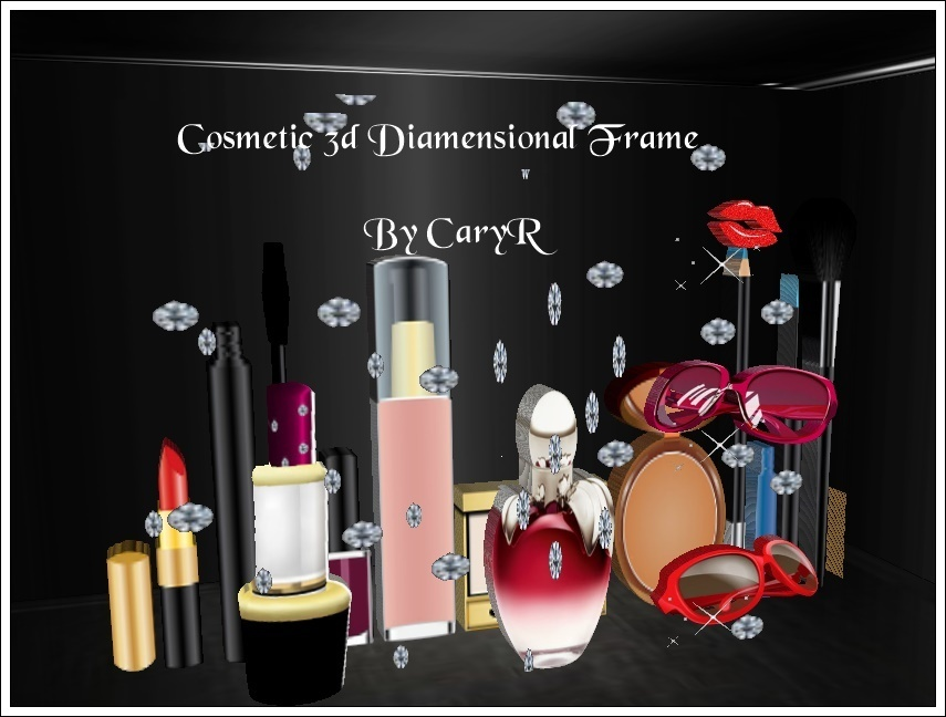 Cosmetic 3d Diamensional Frame BY CaryR