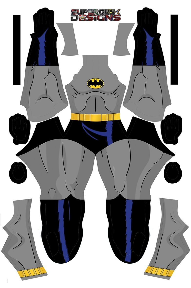 BATMAN the animated TV show (ALL PARTS) pattern file