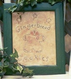 #358 Gingerbread Cookies E Pattern
