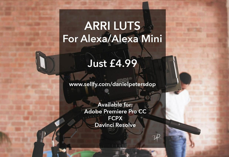ARRI LUTS For Alexa & Alexa mini
