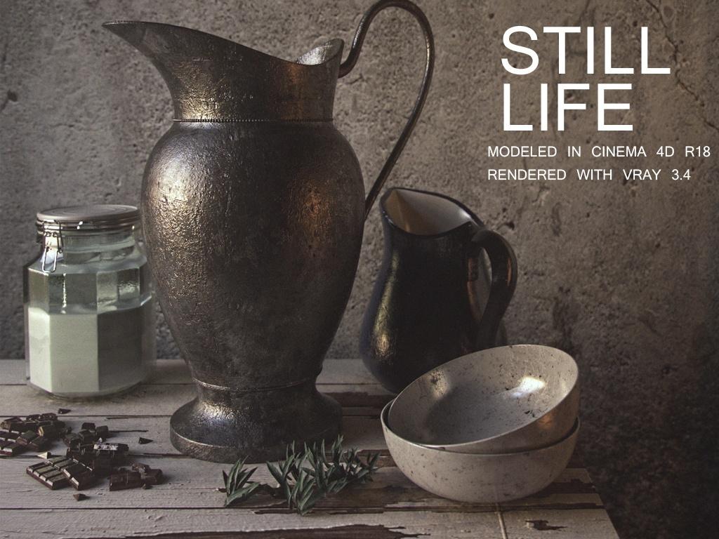 Still Life files-VRAY