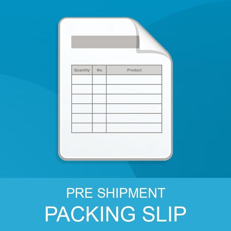 Packingslip for Magento 2