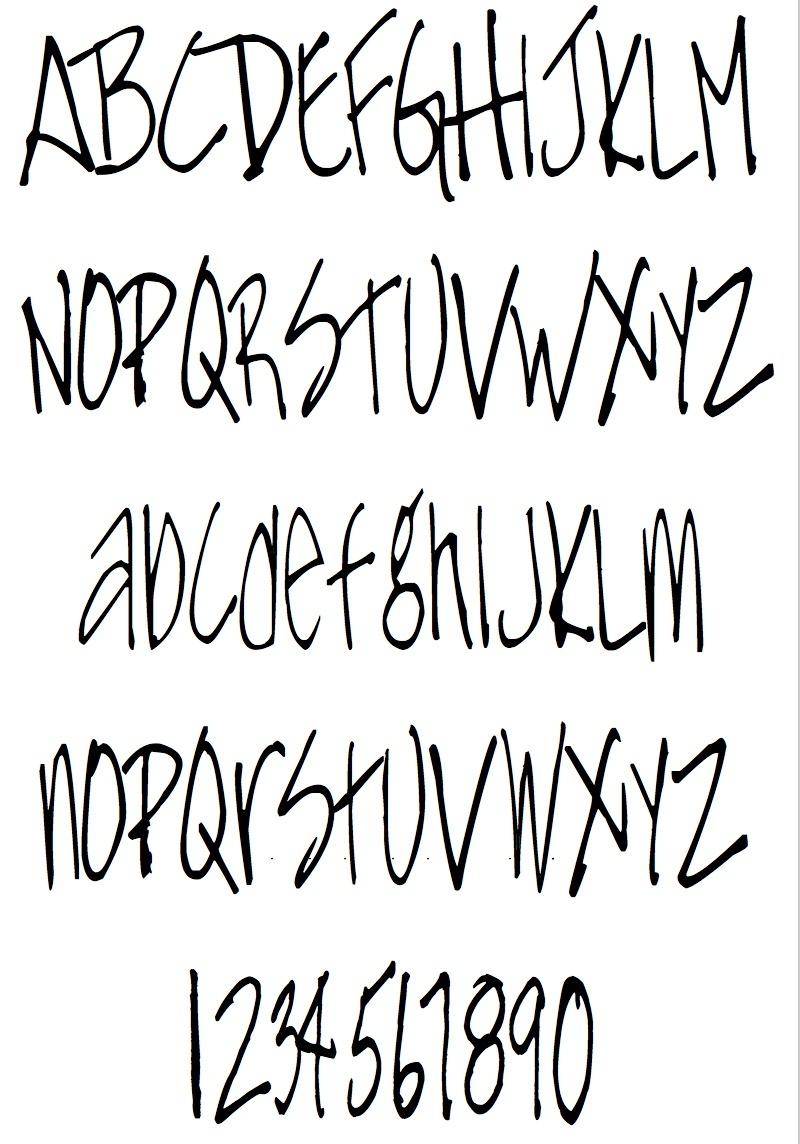 MFH Hand Doodle TTF