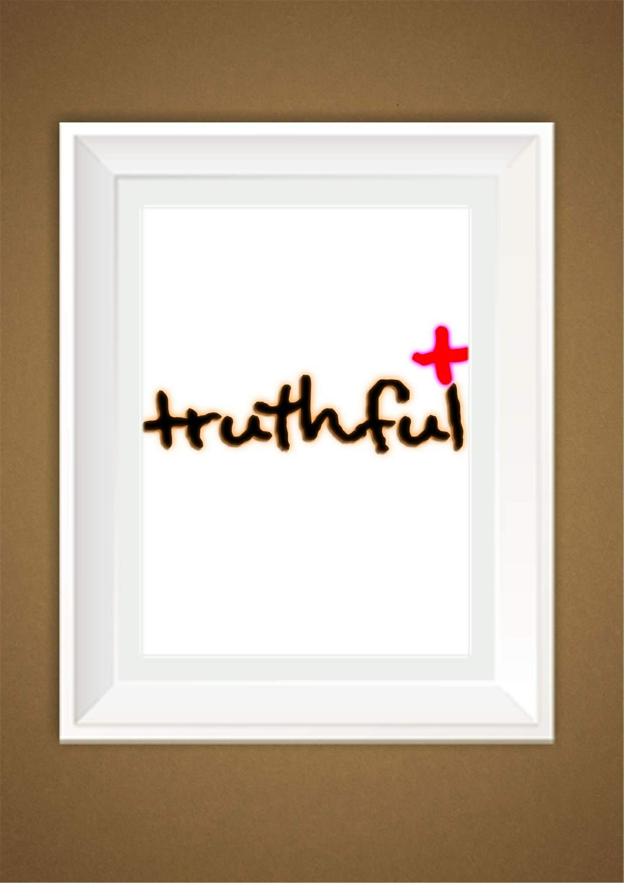 Truthful Wall Art Decor Print