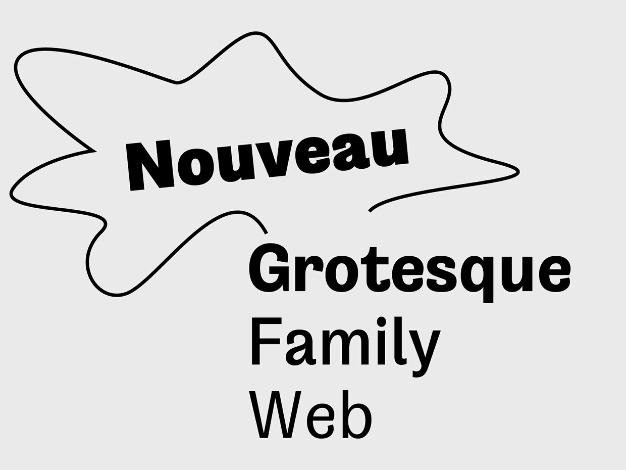 Nouveau Grotesque Family Pack (8 Fonts)  Web 10.000 Pageviews