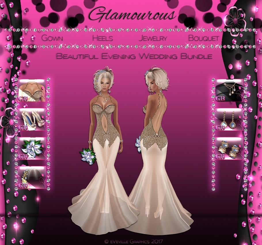 Beautiful Evening Wedding Collection ~CATALOG ONLY~