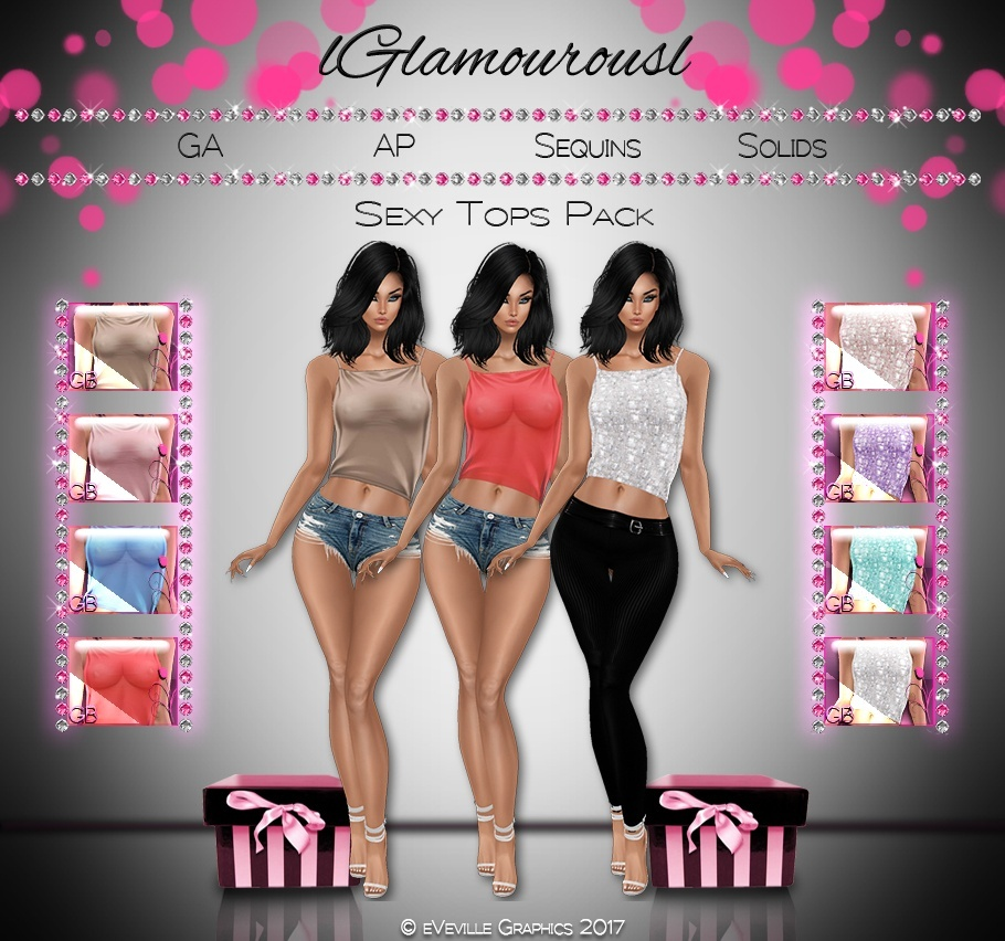 Sexy Top Pack ~CATALOG ONLY~