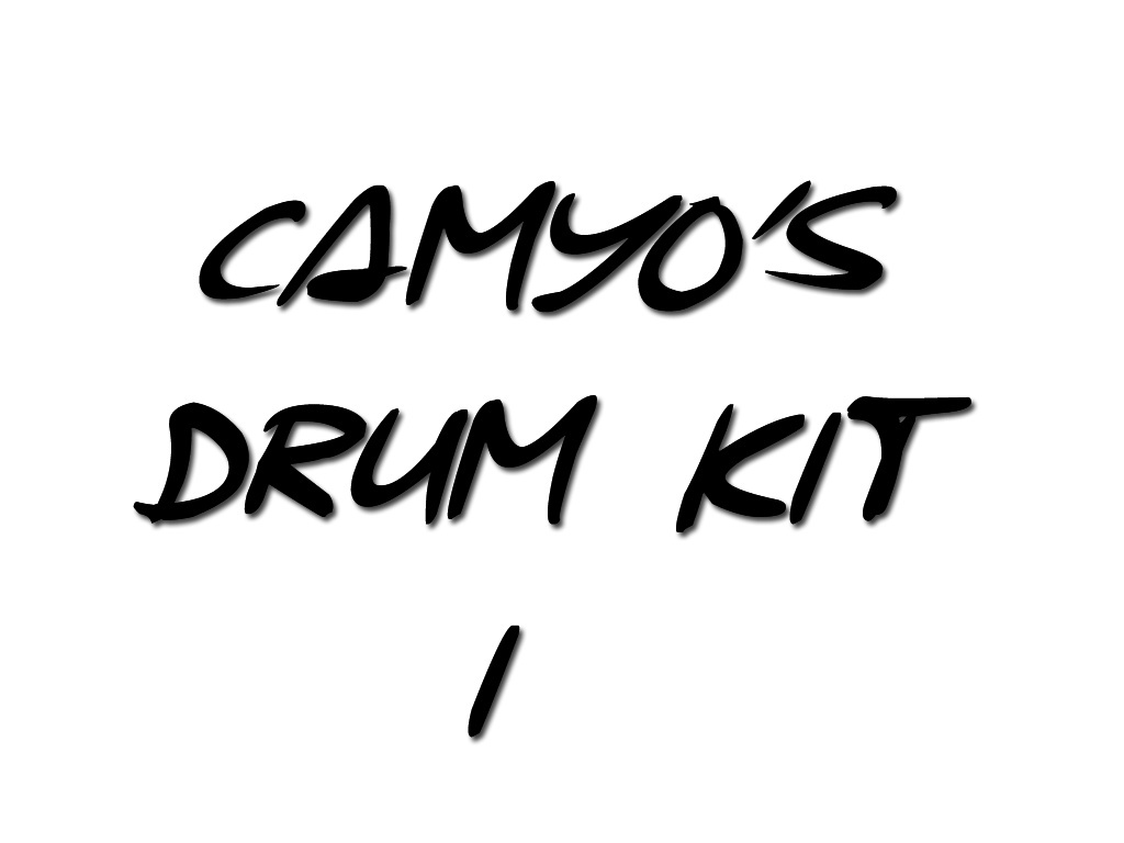 Camyo's Drum Kit Vol. 1