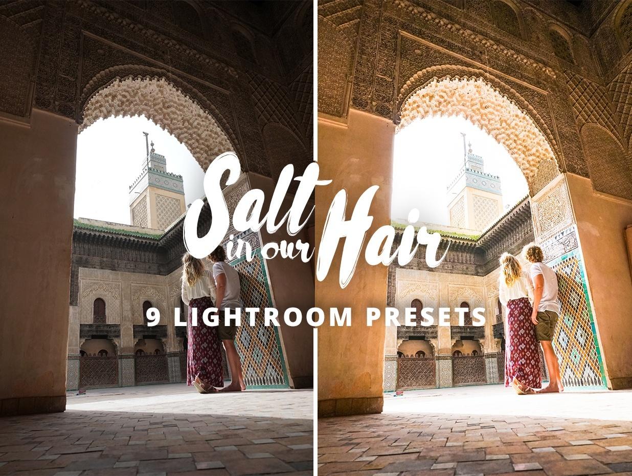 Salt in our Hair - Lightroom & Photoshop Presets